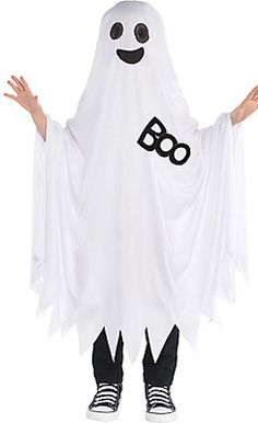 Child Boo Ghost Costume