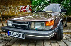 Compact executive car Saab 900 GLE - 28th Berlin-Brandenburg Oldtimer Day