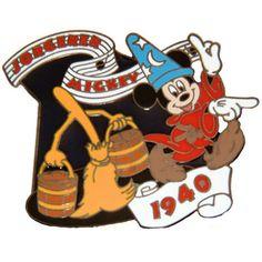 V RARE Disney Pin Willabee Ward 25 Sorcerer Mickey Fantasia Pinpics 56758 | eBay