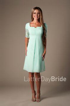 Modest Bridesmaid Dresses : Alicia