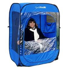SportPod pop-up tent - Stay warm u0026 dry at your kids sporting event with  sc 1 st  Pinterest & The Insect Bug u0026 Mosquito Pop-Up Screen Chair Tent that has gone ...