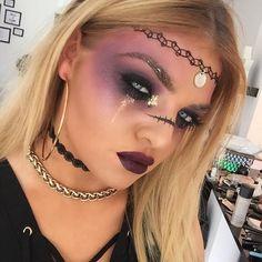 H A L L O W E E N I N S P O  Taking inspiration from the incredible @bybrookelle product details to follow  #makeup #makeupinspo #makeupinspiration #makeupaddict #makeupjunkie #makeupartist #makeupartistworld #makeupartisworldwide #wakeupandmakeup #maccosmetics #nyxcosmetics #beccacosmetics #illamasqua #armani #luxmakeupstudio #halloween #bybrookelle #halloweeninspiration
