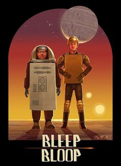 Bleep Bloop // Nick Frost and Simon Pegg