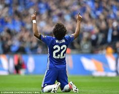 6fa86eaa8f4 Chelsea 4-2 Tottenham - PLAYER RATINGS  Willian comes up trumps