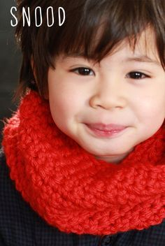 Snood pour enfant (4 ans)- Child snood (4 years)