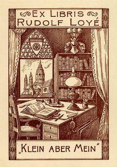 Bookplate of Rudolf Loyé
