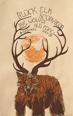 Black Elk, Scary Bear, Rye Wolves, Red Fang