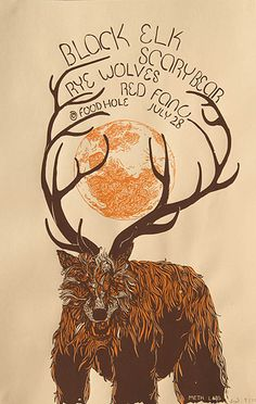 Black Elk, Scary Bear, Rye Wolves, Red Fang