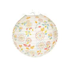 """Artwedding Iron Shelf Sunflower Printing Tissue Paper Lamp Lantern(Set of 2),White by Artwedding. $5.99. Each lantern can take up to a 40-100 watt bulb(No electrical cords or bulbs included). Ideal for wedding, party, holiday, birthday, and other celebrations. Material: Cotton Paper,Iron Wire. Measurement:8"""" ; White with sunflowers. Packaging: (1*holder+ 1*instruction book+ 1*PPR plastic packaging)*2. Colorful sunflower printing, this white lamp lantern made of tissue pap..."""