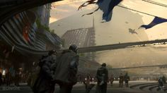 The creator of Halo, Bungie, presents a impressive collection of Concept art for Destiny See Also : Destiny Trailer Jamie Jones, Sci Fi Environment, Environment Design, Environment Sketch, Destiny Fallen, Concept Art World, Tumblr, Game Concept, Fantasy Landscape