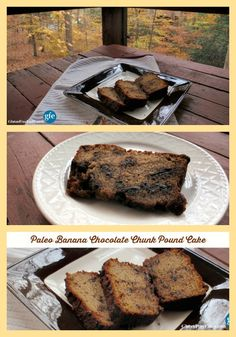 This Paleo Banana Chocolate Chunk Pound Cake is another terrific way to use your ripe bananas. It's rich, satisfying, and filling. A thin slice will tide you over for a long time!  via @shirleygfe