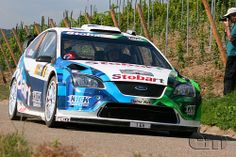 Ford Focus RS WRC - Wilson / Martin, Rally Championship on gravel road