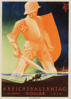 III. Reich - 1936. - plakat - Reichsbauerntag