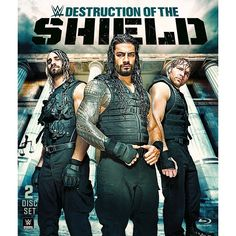 WWE: The Destruction of the Shield [Blu-ray]