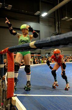 TXRD Roller Derby Girls - At the Start