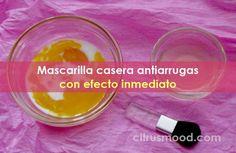 Mascarilla casera antiarrugas con efecto inmediato Baking Soda Facial, Beauty Tips, Beauty Hacks, Food, Fur, Baking Soda, Hair And Beauty, Homemade, Recipes