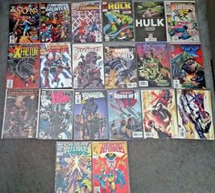 Various Marvel Comics - Lot of 20 - Some #1 Issues! VF/NM