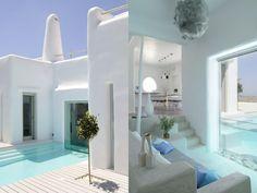 House in Greek islands