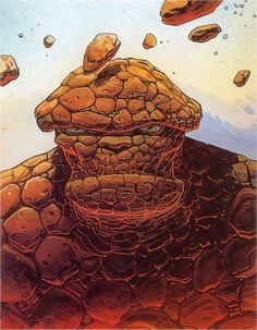 Ungoliantschilde — Marvel by Moebius.