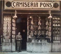 Joan Estrany  en Camiseria Pons 1933