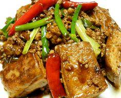 ** 搵到食 **: 香辣酱汁肉末烩豆腐