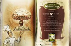 Revista Planeta: Stuffed Peppers, Black Sauce Duck, French Mushrooms