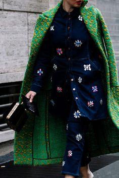 Street Style Milán Fashion Week Otoño Invierno 2016 | Galería de fotos 20 de 103 | VOGUE