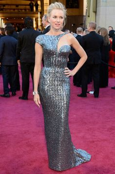 Oscars 2013: Naomi Watts red carpet dress. She was my fav.