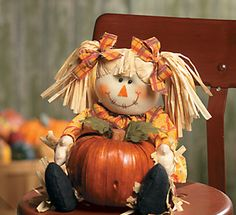 Pigtail scarecrow!  So cutie pie found online.  I would love to have her!