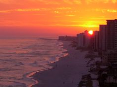 Destin, Fl. - beautiful sunset, I miss it and want to go back!!