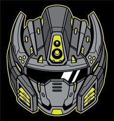 Belajar Adobe Illustrator Menggambar Ilustrasi Kepala Robot