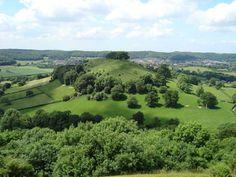 Downham Hill & Dursley from Uley Bury, Gloucestershire