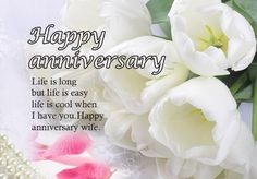 Best Anniversary Wishes For Wife [ Romantic Quotes Saying With HD Images] Happy First Wedding Anniversary, Anniversary Wishes For Parents, Anniversary Wishes For Friends, Wedding Aniversary Quotes, Happy Wedding Wishes, Messages, Text Posts, Text Conversations