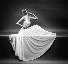 Vanity Fair Sheer Gown by Mark Shaw