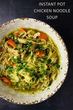 The Best Instant Pot Chicken Noodle Soup!
