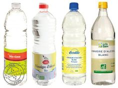 Vinaigre d'alcool / blanc / cristal bio