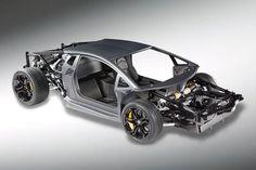 Lamborghini Carbon Monocoque