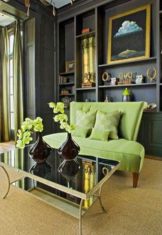 South Shore Decorating Blog Going Green And Glam