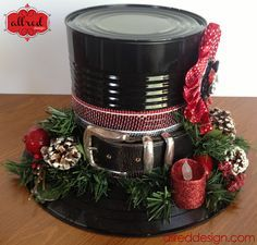 DIY Snowman Holiday Hat Tutorial