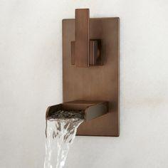 Willis Wall-Mount Bathroom Waterfall Faucet - Bathroom
