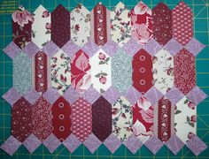 The Quilt Yarn: English Paper Piecing Project