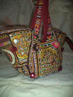 Vintage Tribal Banjara Bag Patchwork Shoulder Bag Huge Celebrity Choice Antique