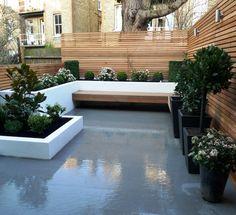 Rooftop garden. Pinned to Garden Design - Roof Gardens by Darin Bradbury.