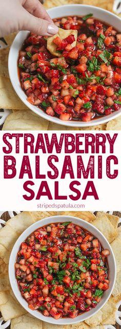 Fruit Salsa | Strawberry Salsa | Salsa Recipes | Summer Recipes | Strawberry Recipes | Gluten Free Recipes