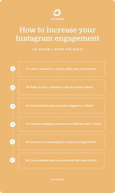 Engagement Tips, Social Media Engagement, Instagram Insights, Instagram Story Ideas, Social Media Marketing Business, Social Media Tips, Social Media Branding, Instagram Feed, Instagram Posts