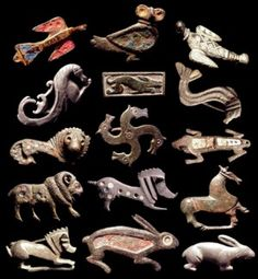 Romano-British brooch collection