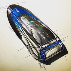 Shaver sketch Very Quick 15 min #productdesign #productdesignsketch…