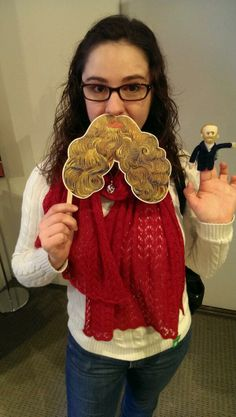 Rockin' the Postes beard at the Phillips Collection Van Gogh exhibit! Plus Mini Vinny! #instavangogh (from @bosley_lisa)