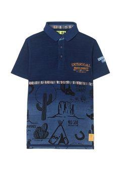 Polo Marino 18SBLK01_5022_G Thom Browne, Spring Summer 2018, Blue Shorts, Polo Ralph Lauren, Menswear, Tees, Mens Tops, T Shirt, Polo Shirts