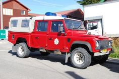Land Rover 127 FireBrigade in Port Stanley